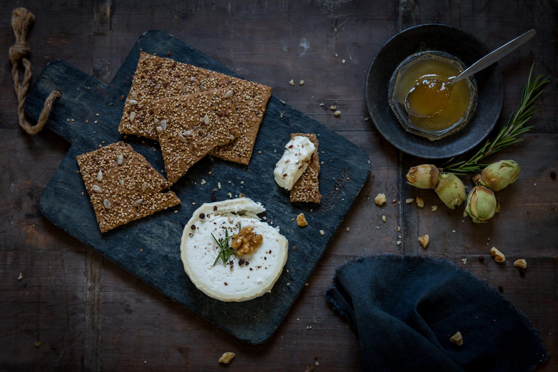 Food fotografie - Camembert
